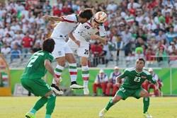 بازی ناجوانمردانه خارج از زمین دیدار ایران - عراق شروع شد