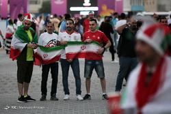 حاشیه دیدار فوتبال ایران و عراق