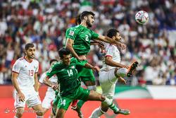 دیدار تیمهای فوتبال ایران و عراق