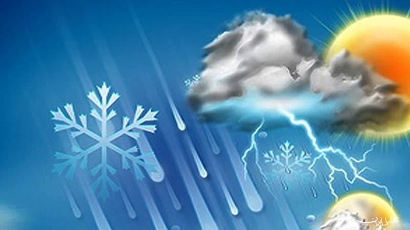 برف و باران کل کشور را در بر می گیرد/
