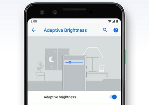 قابلیت ریست کردن روشنایی سازگار به اندروید ۹.۰ اضافه شد