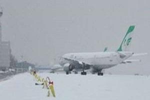 اختلال درپروازهای مهرآباد به دلیل شرایط جوی/پروازها به زودی از سر گرفته میشود
