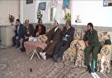 باشگاه خبرنگاران -دیدار جمعی از مسئولان میبد با جانبازان دفاع مقدس