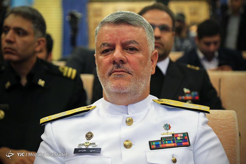 نیروی دریایی معطل هیچ توافقی نمی ماند