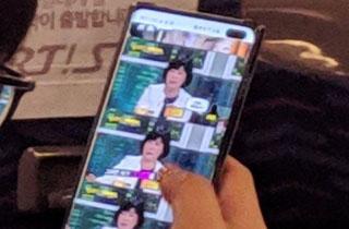 اولین تصاویر فاش شده از گوشی گلکسی اس ۱۰ - Galaxy S10