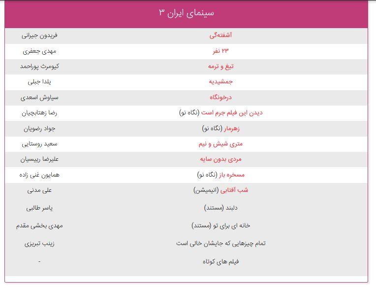نحوه خرید بلیت جشنواره فیلم فجر + قیمت بلیت