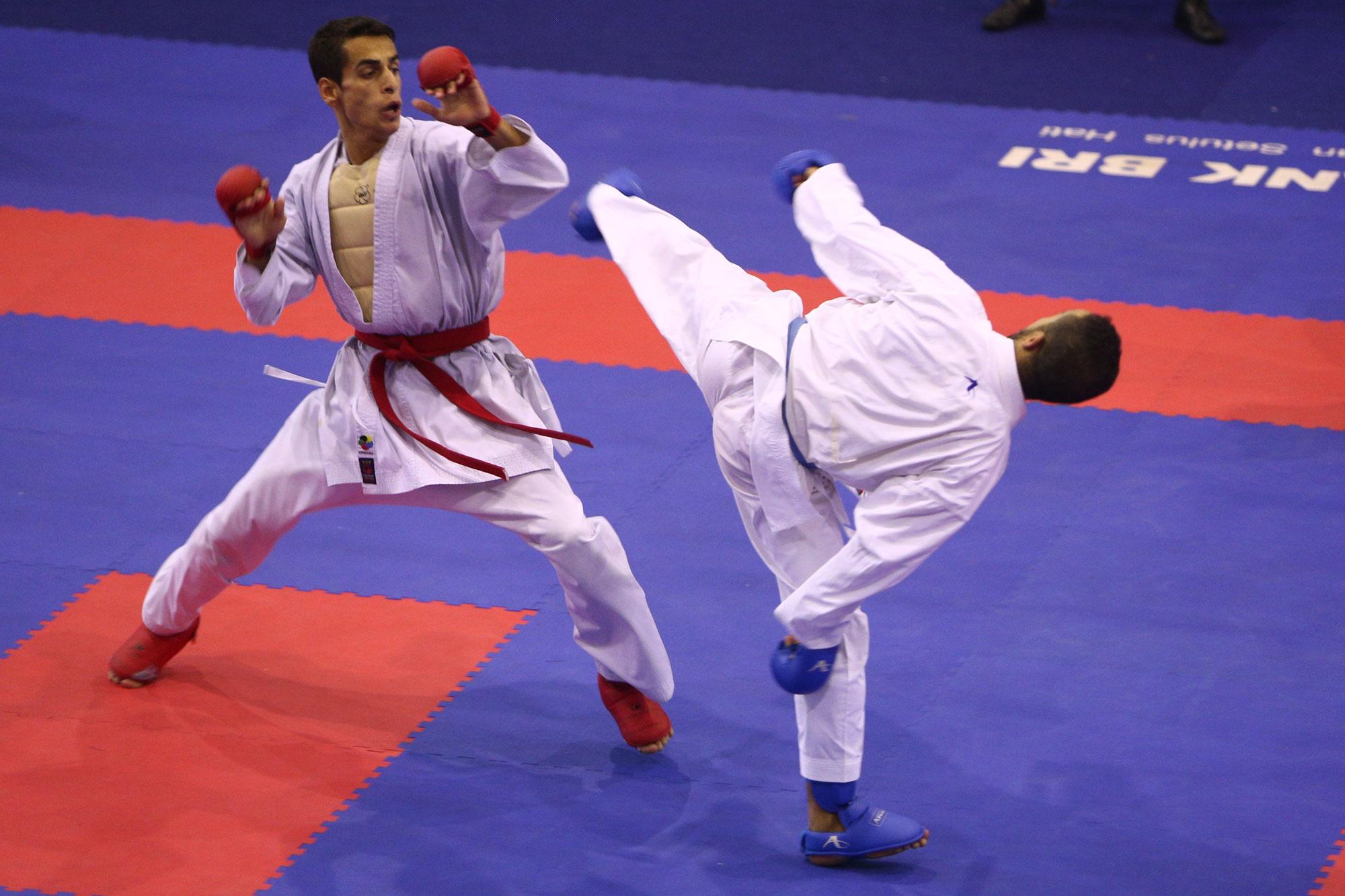 حضور 10 کشور در کمپ تمرینی کاراته ایتالیا