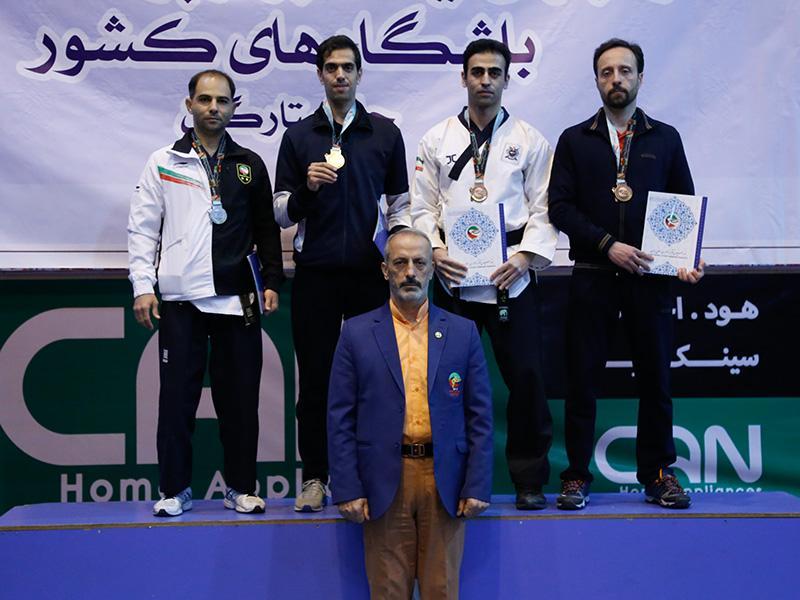 نائب قهرمانی تکواندو کار فارس در پومسه کشوری