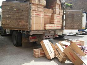 دستگیری ۲۱۵ نفر با بیش از ۲۶ میلیارد کالای قاچاق در آستارا