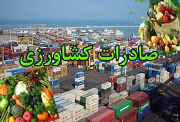 افزایش ۷ درصدی صادرات محصولات کشاورزی در همدان
