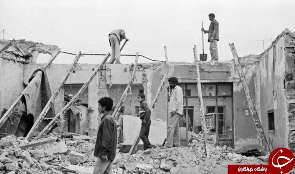 حمله موشکی به شهر مسجد سلیمان در چهارم دی ماه ۱۳۶۲+عکس