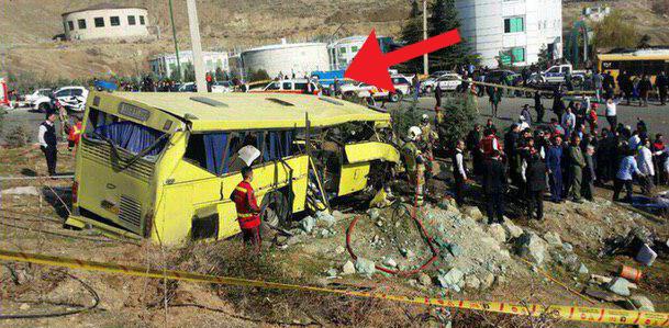 آیا اتوبوس حادثه دیده همان اتوبوس ترمزبریده بود؟