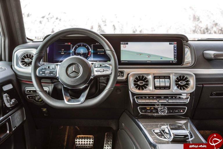مرسدس G350d خودرویی قدرتمند، پیشرفته و زیبا +تصاویر