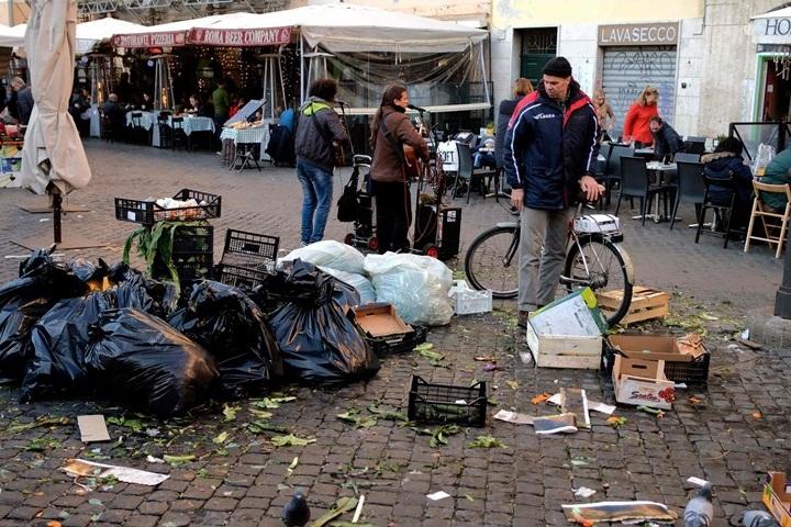 بحران زباله در پایتخت ایتالیا