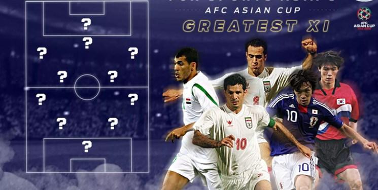 بهترین گلزن جهان و جادوگر فوتبال آسیا در جمع برترینهای جام ملتها