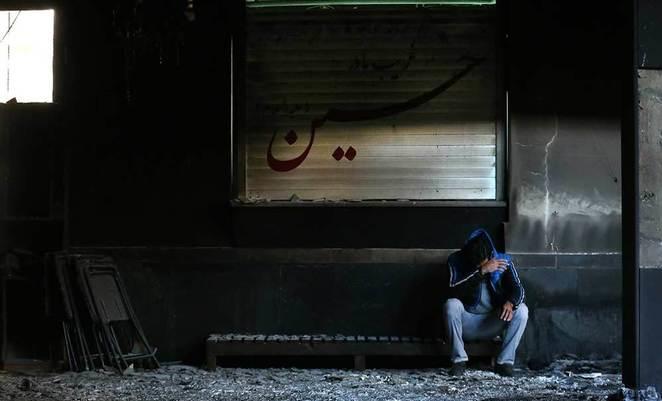 ماجرای آتش سوزی تکیه درکه توسط گروهک ضد انقلاب ری استارت/ آتش اینجا گلستان میشود