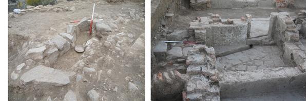 کشف یک حمام متعلق دوره اسلامی