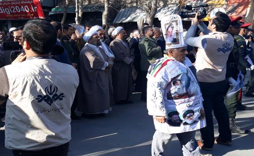 مراسم گرامیداشت حماسه ۹ دی در بجنورد آغاز شد+ تصاویر