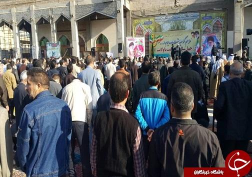 برپایی مراسم راهپیمایی روز ۹ دی در خوزستان