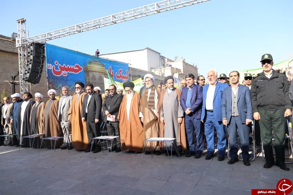 آغاز مراسم گرامیداشت یوم الله ۹ دی در شیراز