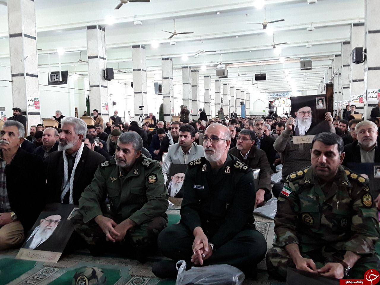 برگزاری مراسم باشکوه  ۹ دی  +تصاویر از سراسر استان کرمانشاه