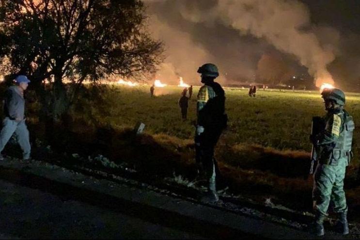 افزایش تعداد تلفات انفجار لوله نفت در مکزیک به 85 نفر