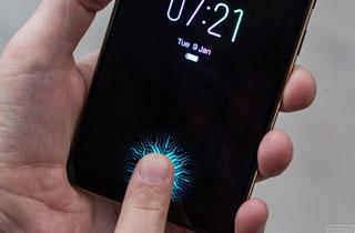 تکنولوژی تشخیص اثر انگشت از روی LCD در گلکسی s10 جدید