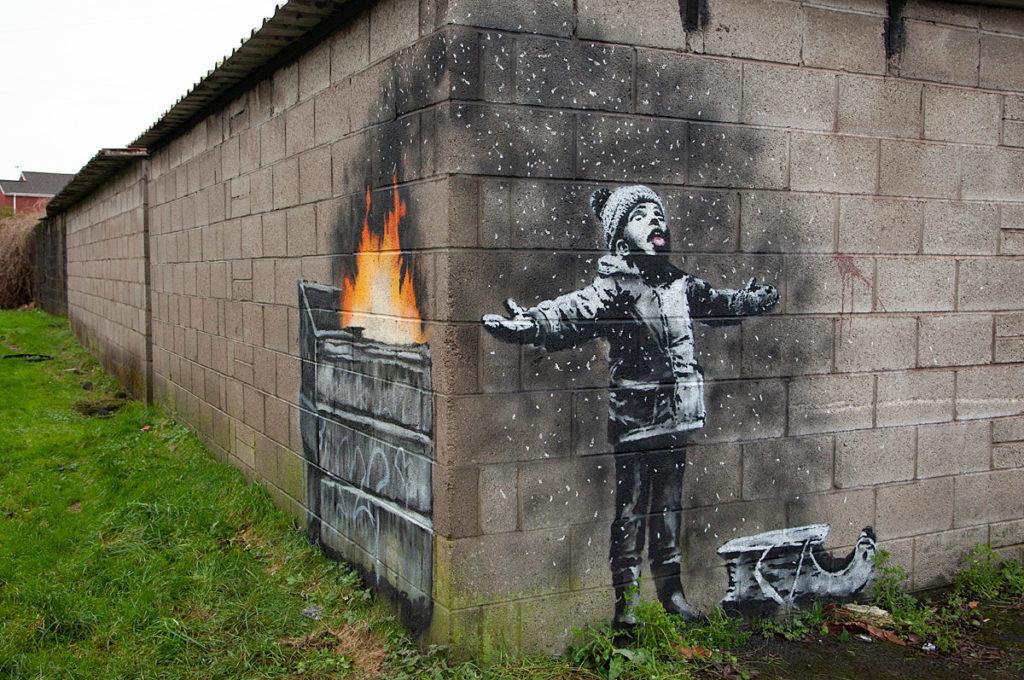 جدیدترین اثر هنرمند خیابانی آمریکایی خریداری شد