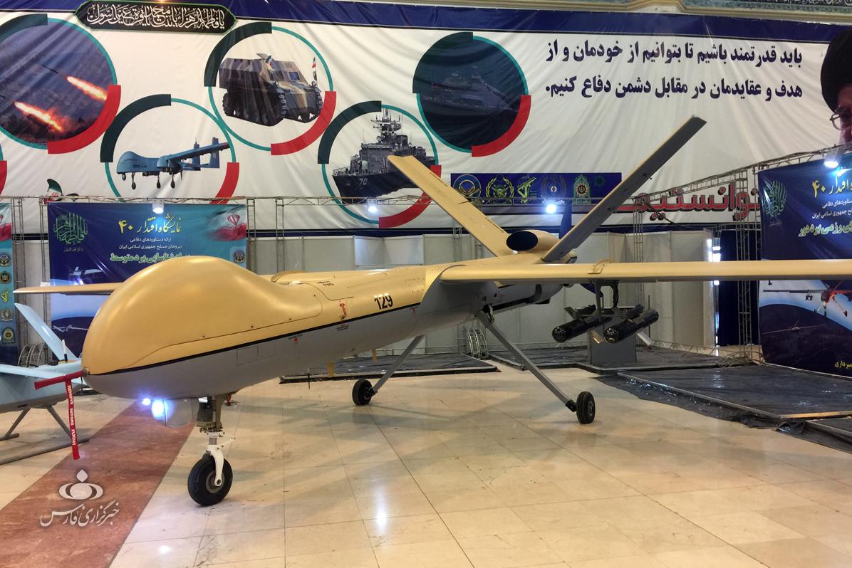 دستاوردهای جدید نیروهای مسلح در نمایشگاه«اقتدار۴۰»/ کمان؛ جدیدترین پهپاد ایرانی