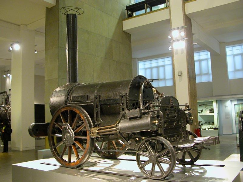 قدیمیترین باقی مانده لوکوموتیو بخار را در کدام موزه ببینیم؟
