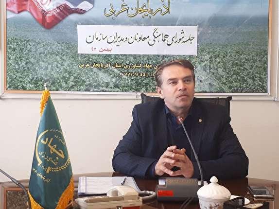 ۲۳ عنوان برنامه عملیاتی در جهاد کشاورزی آذربایجان غربی اجرا می شود
