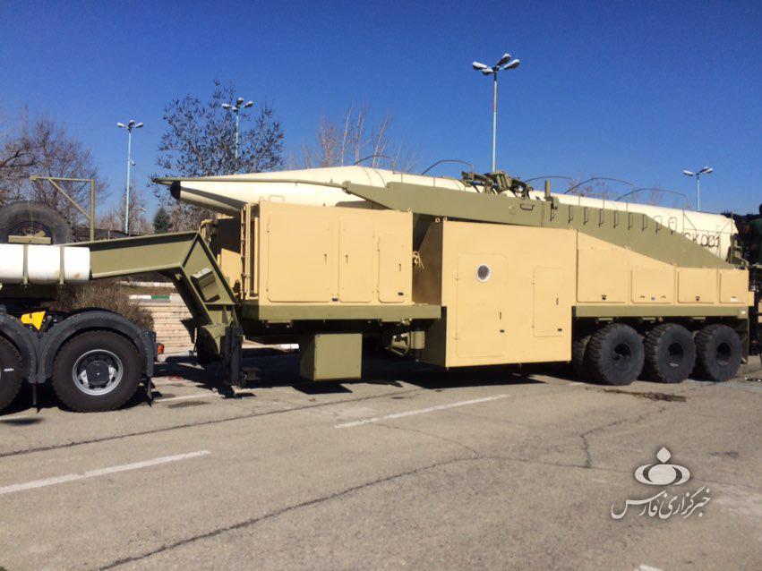 کدام موشکهای ایرانی در مصلی تهران مستقر شده است؟