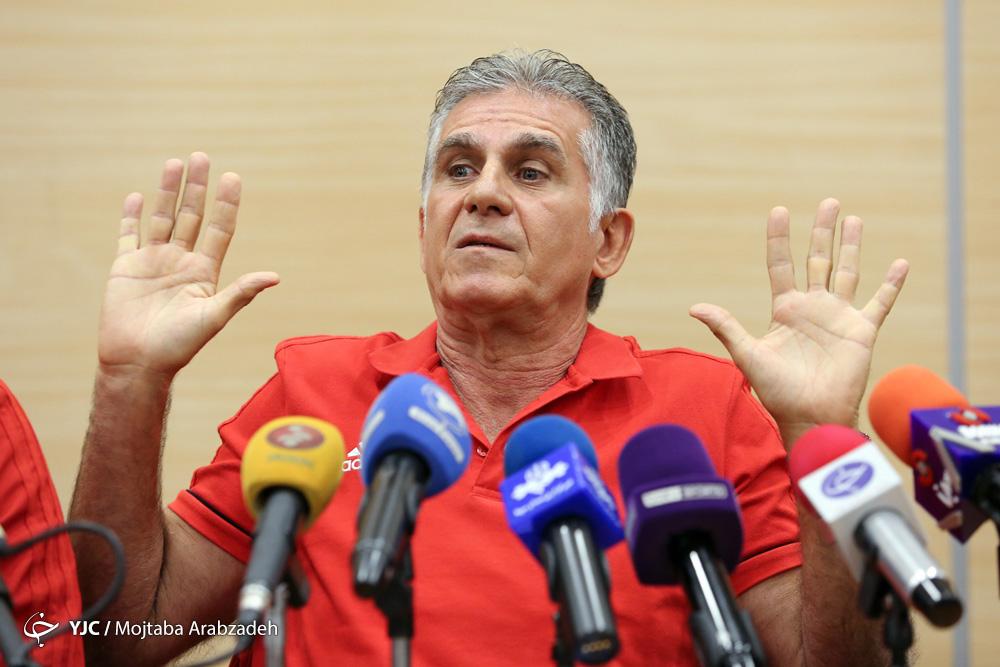 کیروش:با افتخار ایران را ترک می کنم/ قسمتی از وجودم در ایران می ماند/ عذر خواهی می کنم که نتوانستیم به رویایمان برسیم
