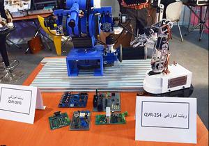 قزوین پیشانی علم رباتیک کشور
