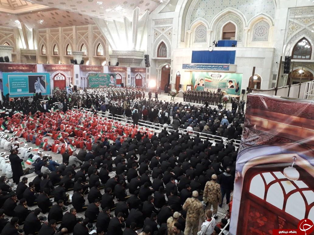 ویژه برنامه مراسم یوم الله ۱۲ بهمن آغاز شد + تصاویر