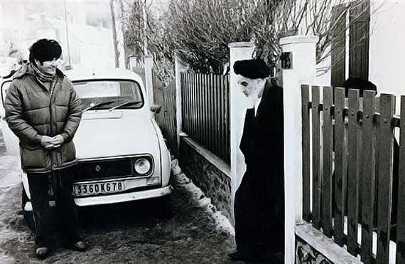 امام از زبان همسایههای فرانسوی + تصاویر