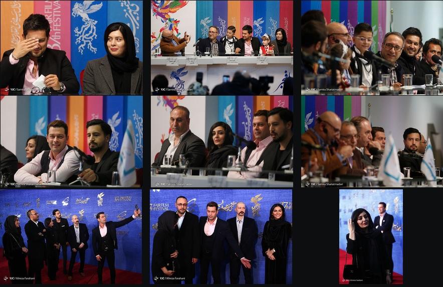 حاشیههای جشنواره فیلم فجر گریبانگیر فراستی شد/ یکه تازی عکاسان در نشستهای خبری فیلم ها!