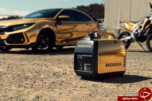 هوندا ۵۰ سالگی خود در استرالیا را با مجموعهای طلایی جشن گرفت