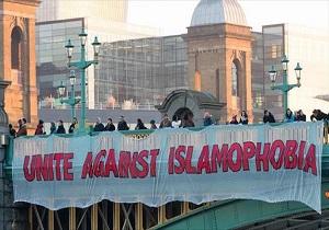 تجمع زنان مسلمان به مناسبت روز جهانی حجاب در لندن