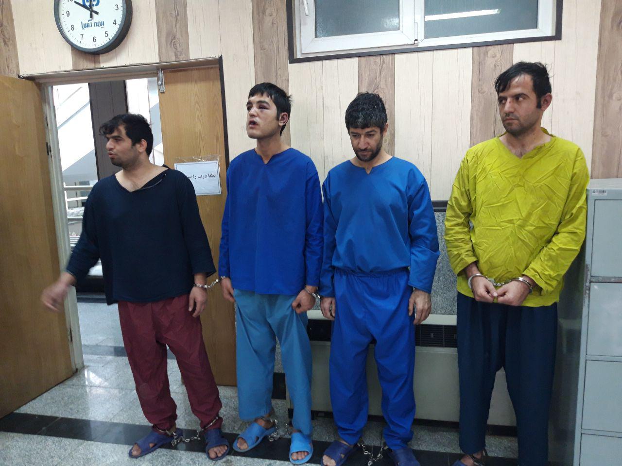 جزئیات دستگیری مهاجمان مسلح حمله کننده به بیمارستان امام خمینی(ره) + عکس و فیلم