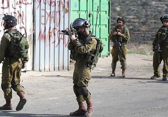 یورش نظامیان صهیونیست به جنوب شهر بیت لحم