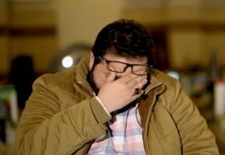 گریه ستاره سینمای لبنان برای دیدار با رهبر انقلاب + فیلم