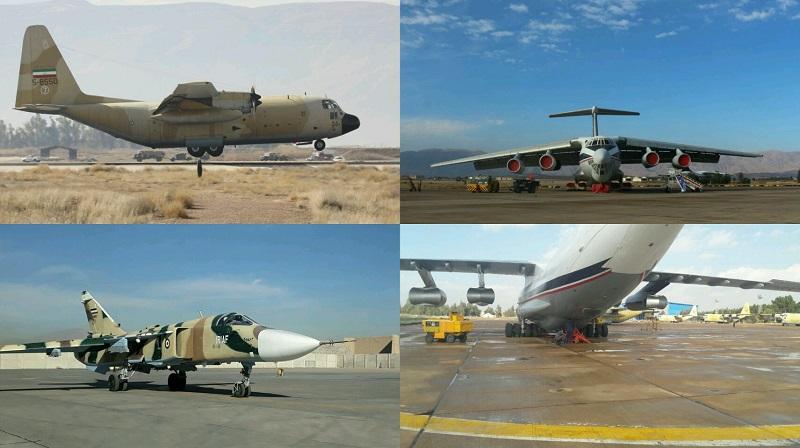 پنج فروند هواپیمای فوق سنگین و شکاری بازآماد شد