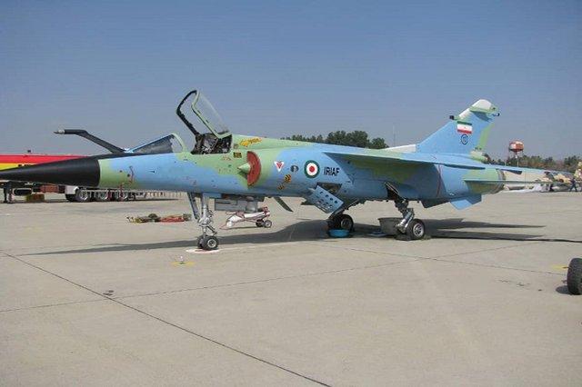 دو فروند هواپیمای میراژ و اف ۵ بازآماد شد