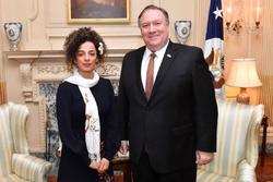 #مسبح_علینژاد| واکنش تند کاربران به دیدار روزنامهنگار معاند با وزیر امور خارجه امریکا