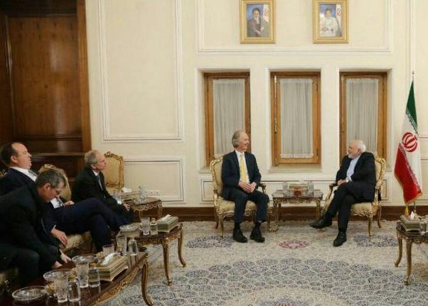 دیدار نماینده ویژه سازمان ملل در امور سوریه با ظریف