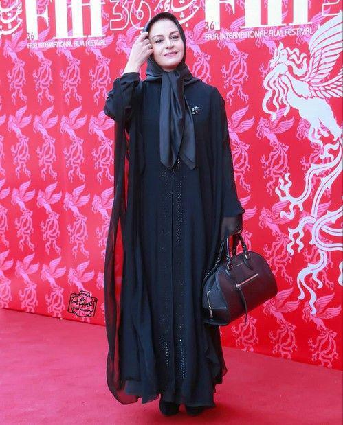 پوشش ستودنی خانم بازیگر در جشنواره فیلم فجر 97+عکس