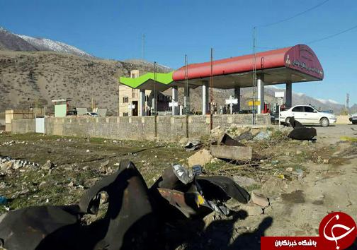 انفجار تانکر سوخت در خرمآباد/ یک سرباز وظیفه شهید شد +تصاویر