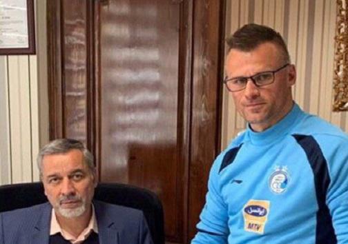 ثبت قرارداد مجیدی در هیات فوتبال