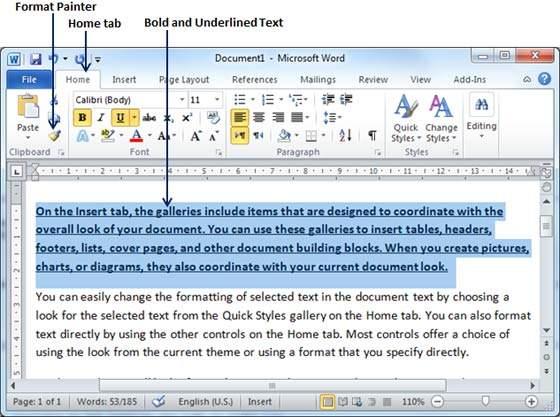 آموزش مایکروسافت ورد   چگونگی جدول بندی و قالب سازی در متن (قسمت ۱۷)